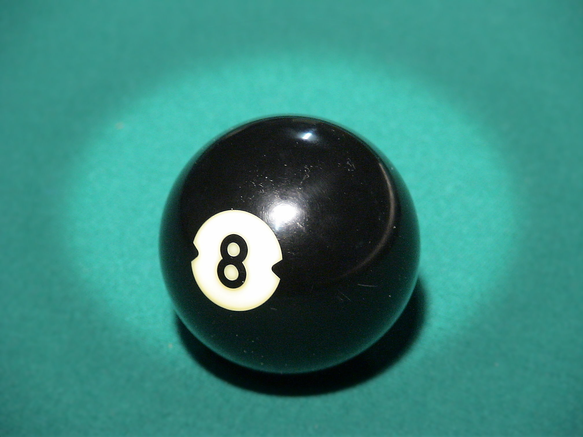 eight pool ball